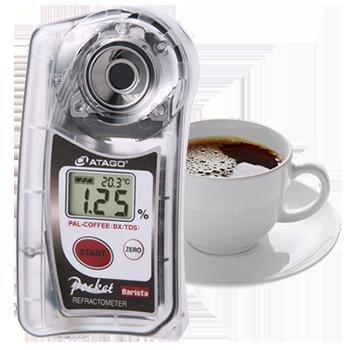 Refraktometry baristyczne do kawy