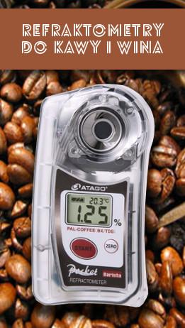 Refraktometry do kawy